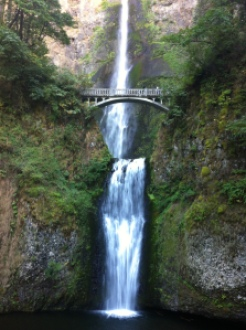 2013-09 September USA trip Mt. Hood, Multnomah Falls, Oregon 070