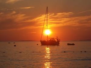 Sunset on Menemsha Beach