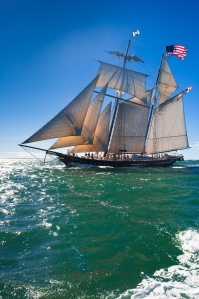Shenandoah – Sailing in the Vineyard Sound