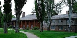 Fuller Lodge, in the heart of downtown, is a national historic landmark.