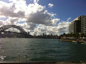 2013-04 April Sydney trip with Garth, ferry, Taronga Zoo 005