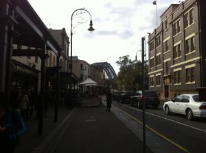 2013-06 June Sydney trip with Poppa, Bondi, city, The Rocks 031