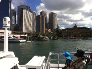2013-04 April Sydney trip with Garth, ferry, Taronga Zoo 016