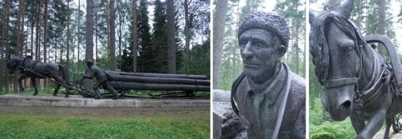 Kerimakki statues