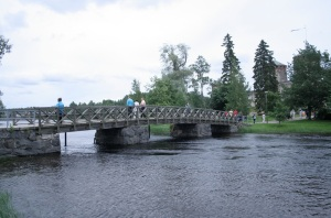 Savonlinna Castle Bridge