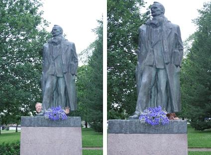 Savonlinna statues