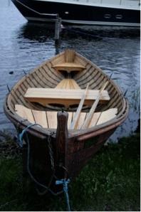 Savonlinna Viking type canoe