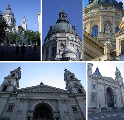 7 Budapest - St Stephens Basilica - outside