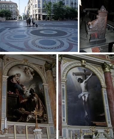 8 Budapest - St Stephens Basilica - artwork