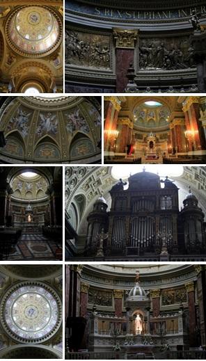 9 Budapest - St Stephens Basilica - inside