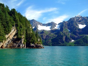 A beautiful shot of coastal Alaska and exactly how I envision the fictional community of Emerald Cove.